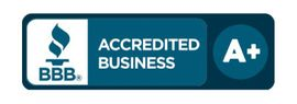 A+ rating from the Better Business Bureau (BBB)